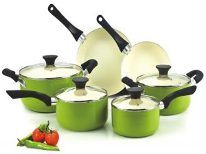 4.- Cook N Home NC-00358 10-Piece Cookware Set