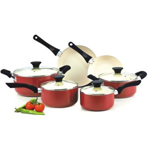 Cuisinart Elements 10-Piece Ceramic Cookware Set