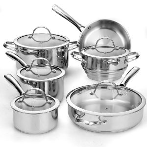 Cooks Standard 11-Piece Cookware Set