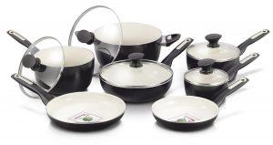 GreenPan 12 Piece Rio Ceramic Non-Stick Cookware Set