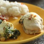 Spinach & Cheese Stuffed Chicken Breast