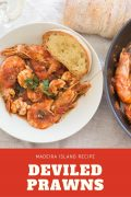 Deviled Prawns (Madeira's recipe)
