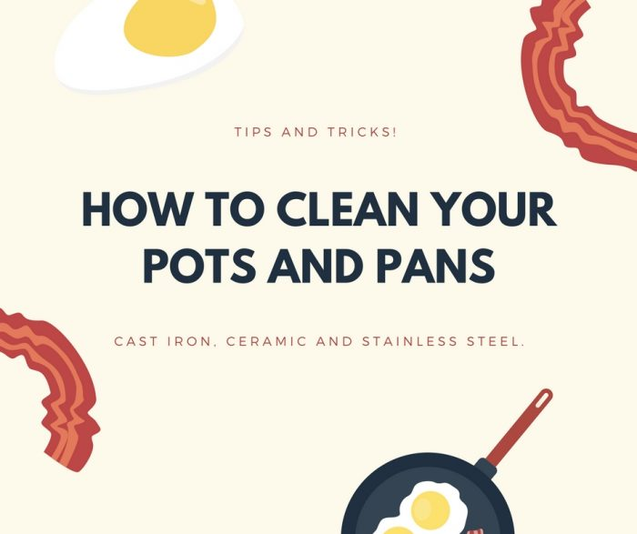 How To Clean Your Pots And Pans The Cookware Geek