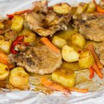 One sheet Spicy Pork chops with Oyster Sauce