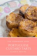 Portuguese Custard Tarts (Pastéis de nata)