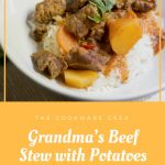 Grandma's Beef Stew with Potatoes and Carrots (Latin American style)