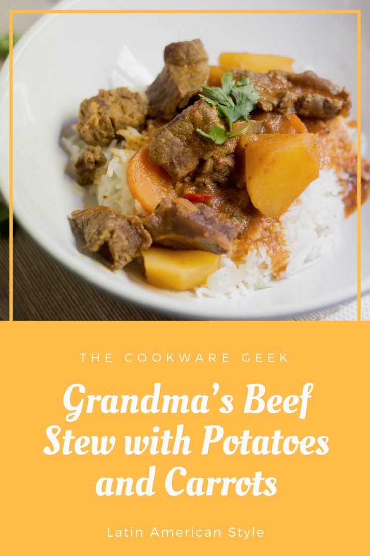 Grandma's Beef Stew with Potatoes and Carrots (Latin ...
