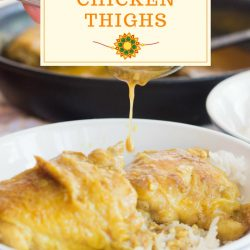 coconut curry chicken thighs