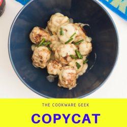 Copycat Ikea Meatballs