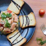 Salmon tartare Peruvian Style