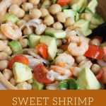 Sweet Shrimp and Chickpea Salad