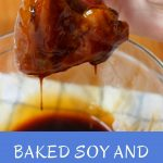 Baked Soy and Honey Chicken Wings