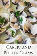 Garlic and Butter Clams