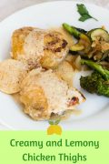 Creamy and Lemony Chicken Thighs