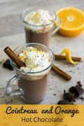 Cointreau Orange Hot Chocolate
