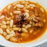 Hearty Mediterranean White Beans Soup