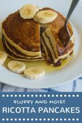 Super Easy Ricotta Pancakes