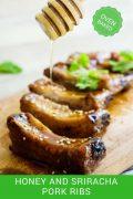 Oven Baked Honey and Sriracha Pork Ribs