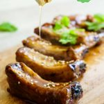 Oven Baked Honey and Sriracha Pork Ribs