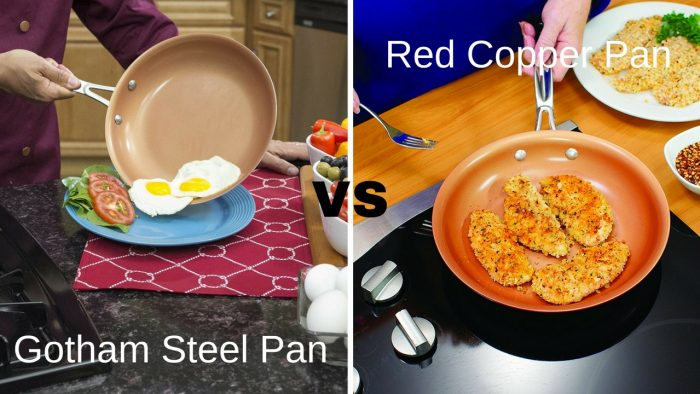 Gotham Steel Pan Vs Red Copper Pan Which Should You Buy