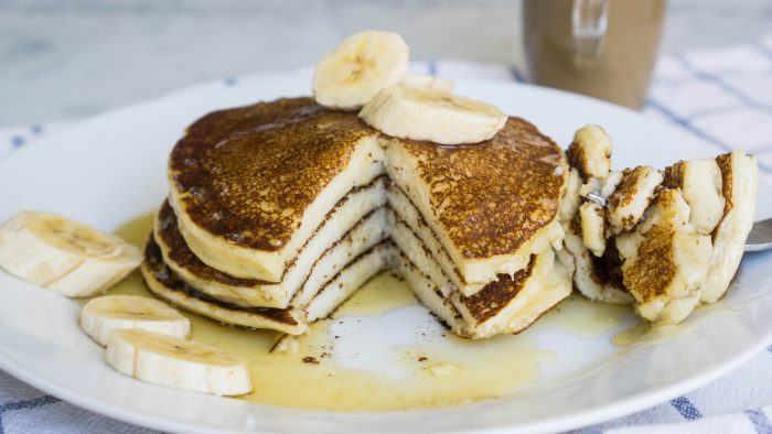 Super easy ricotta pancakes the cookware geek ricotta pancakes are a recurrent dream for those who love a sweet breakfast the best thing is that they are extra fluffy and really easy to make ccuart Gallery
