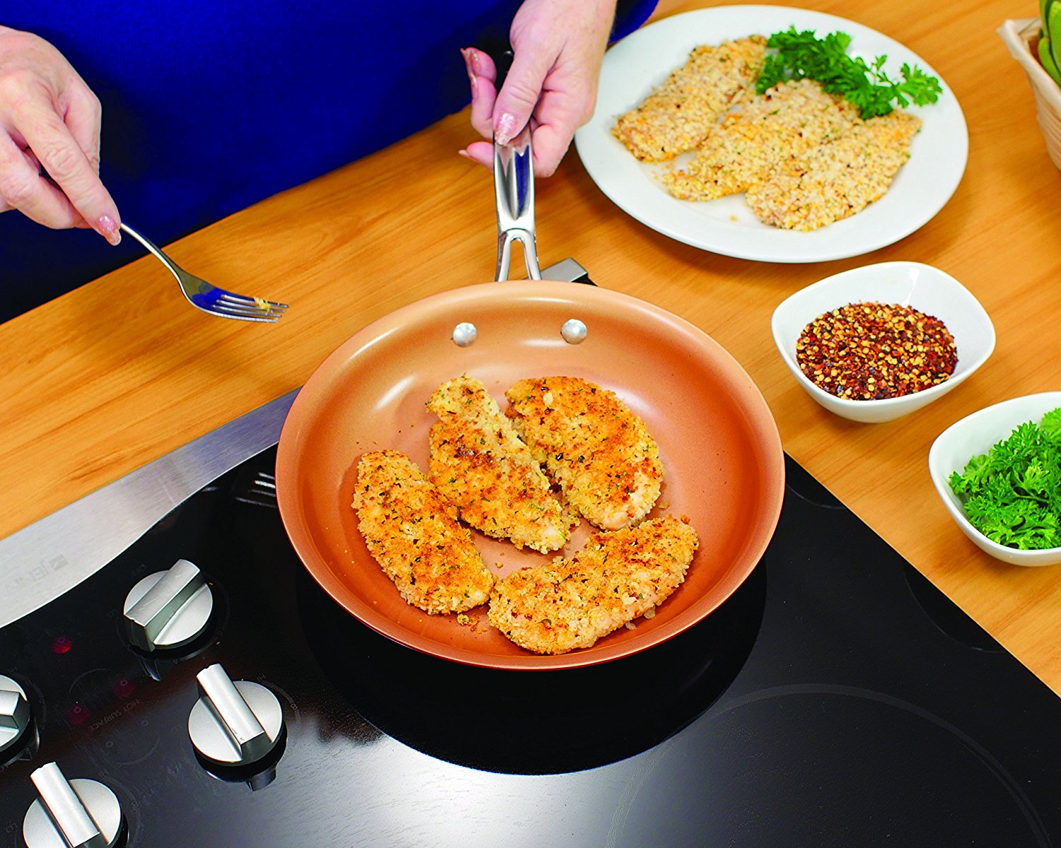 Copper Pan Reviews >> Red Copper Pan Reviews 2020 6 Top Red Copper Cookware