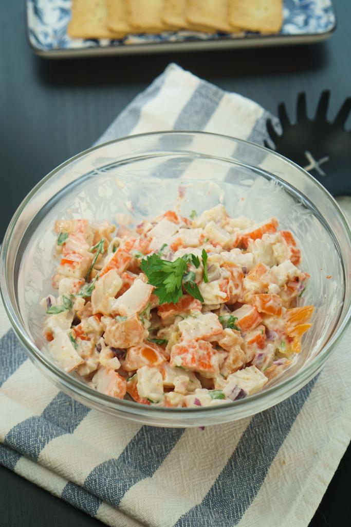 imitation crab salad  the cookware geek